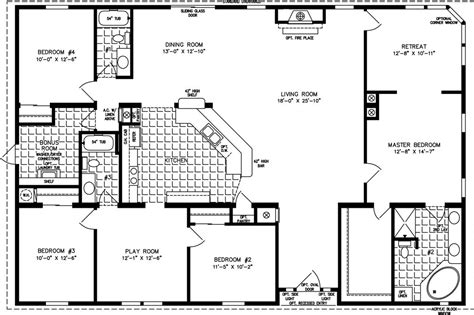 floor plans 2000 square simple square house plans the tnr 7604 manufactured home floor plan jacobsen homes for