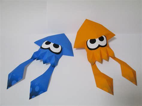 paper n craft splatoon papercraft 1 2 by robicraft on deviantart