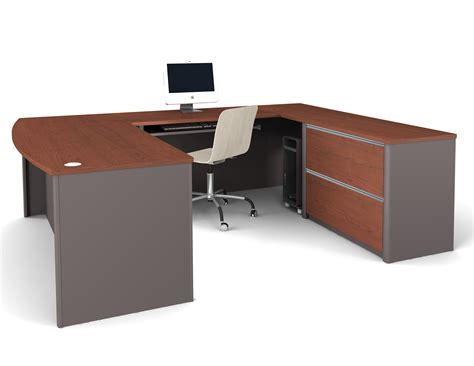 office u shaped desk bestar connexion u shaped desk