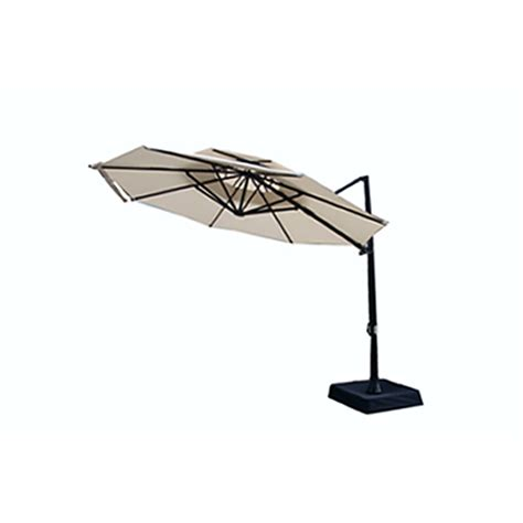 offset patio umbrella lowes offset market patio umbrellas from lowes
