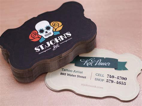 custom card creative custom business cards st johns ink