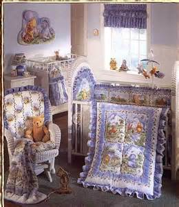 classic winnie the pooh crib bedding classic winnie the pooh friends 4 pc crib bedding set ebay