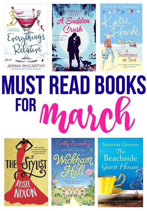 must read must read books for march bradford