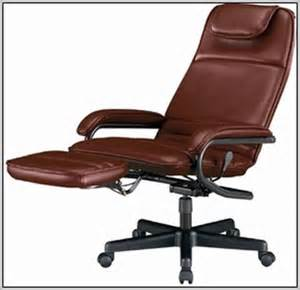 reclining office desk chair reclining desk chair with footrest desk home design