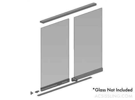 cabinet door kit sliding glass cabinet door kit changefifa