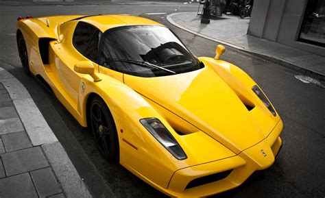Supercar Wallpaper Yellow by Enzo Luxury Yellow Yellow Supercar Tuning