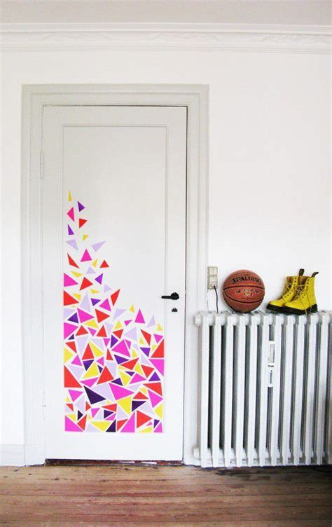 how to decorate your bedroom door 37 diy washi decorating projects you will