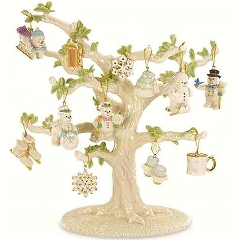 miniature tree ornaments lenox snow pals miniature ornaments 12 winter set