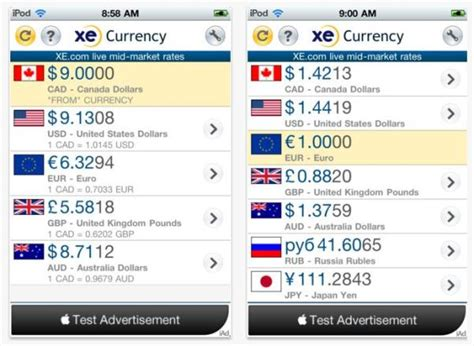 currency converter ten great travel apps for the 3