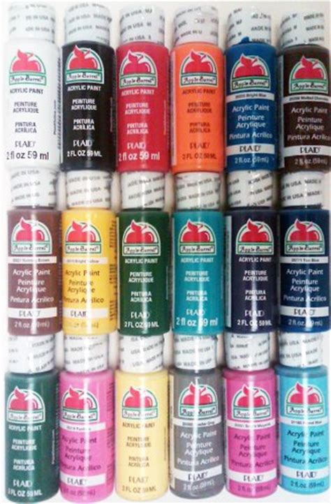 acrylic paint for plaid apple barrel acrylic paint 171 knows best