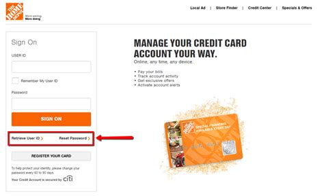 make credit card payment with another credit card home depot credit card login make a payment creditspot