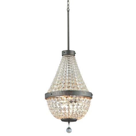 chandelier 3 light shop portfolio breely 14 02 in 3 light antique silver