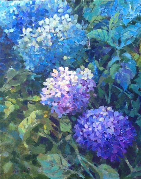 acrylic painting hydrangeas acrylic painting tsai gallery