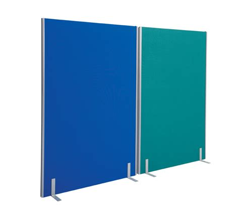 office room dividers office partition screen room divider 1800 x 1600mm blue
