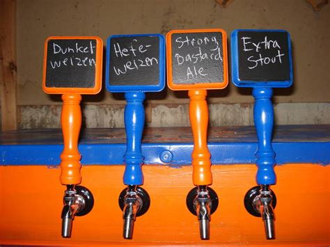 diy chalkboard tap handle cheap yet awesome tap handles home brew forums