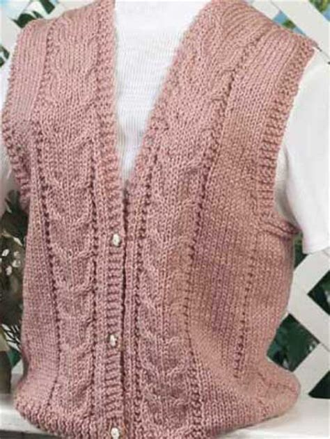 knitted vest patterns free knitting vests pretty in pink ii