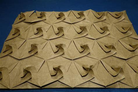 origami tesselations origami tessellations models folded by michał kosmulski