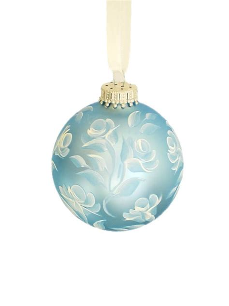 baby blue ornaments ornament baby blue satin with