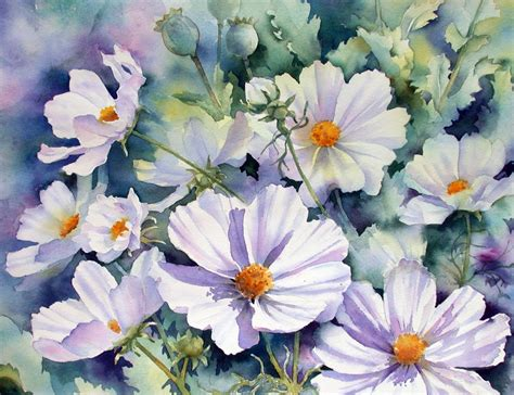flower painting pictures flowers for flower flowers paintings