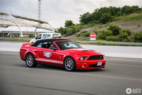 06 Ford Mustang by Ford Mustang Shelby Gt500 Convertible 6 Oktober 2016
