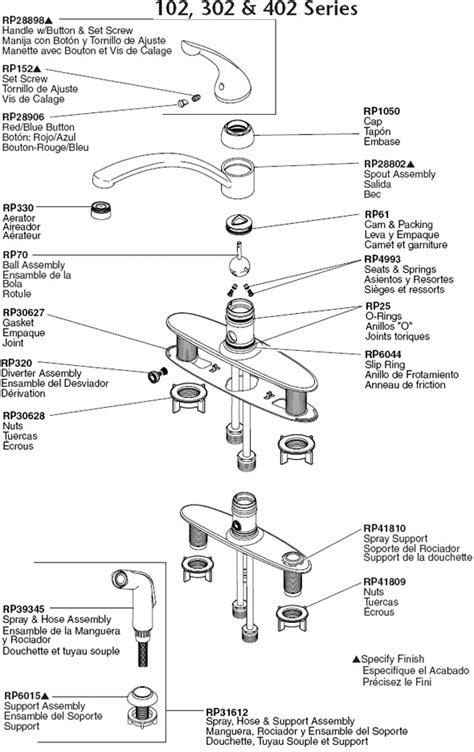 kitchen faucet parts diagram delta kitchen faucet parts diagram automotive parts diagram images