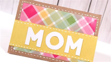 how to make a cool mothers day card diy s day card make a card monday 249