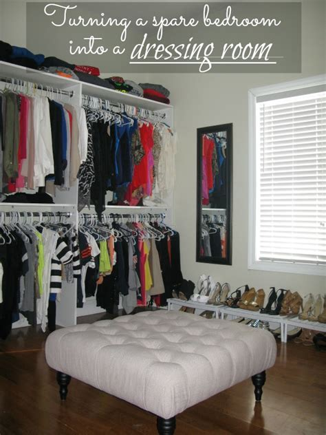 what to do with room in house turning a spare bedroom into a dressing room