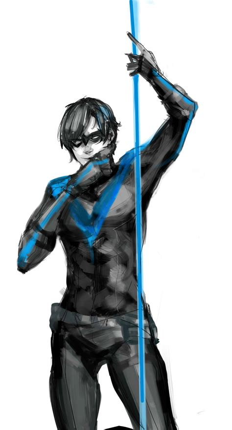 nightwing hairstyle nightwing one of my many fictional crushes