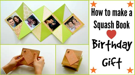 how to make a paper card how to make a squash card book diy paper crafts