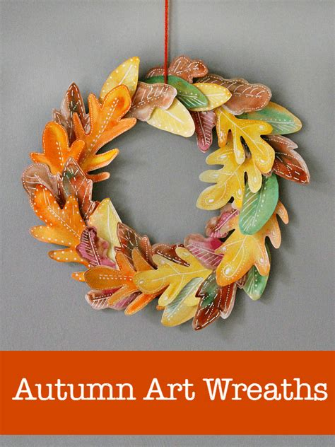 wreaths crafts projects 10 beautiful fall wreath projects nurturestore