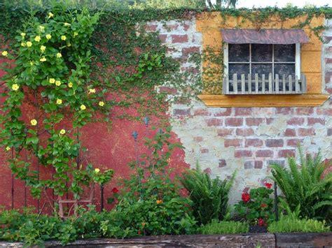 garden brick wall design ideas brick wall garden designs decorating ideas design trends