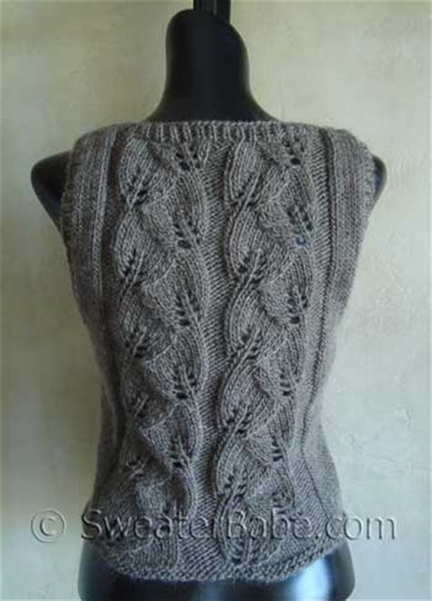 knitting pattern for waistcoat easy knit waistcoat patterns free knitting and crochet