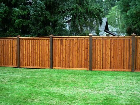 types of fences for backyard best 25 types of fences ideas on home fencing