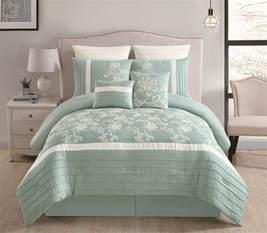 8 king comforter set 8 maris aqua comforter set