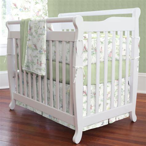 nursery crib bedding nursery rhyme toile portable crib bedding carousel