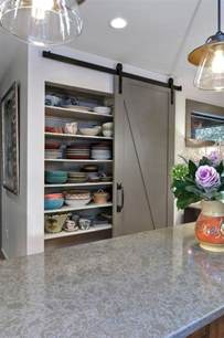 kitchen barn doors from rustic to chic 15 kitchens with barn door accents