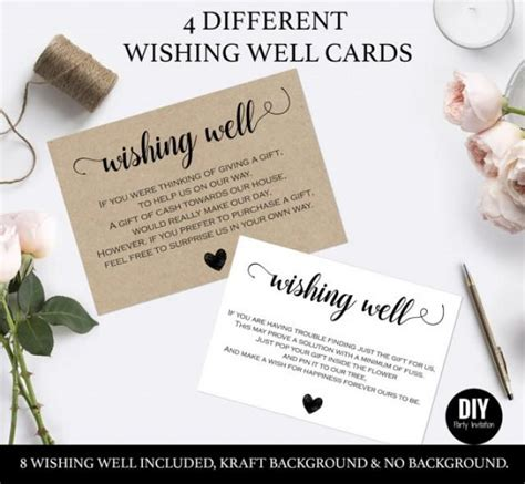 how to make wishing cards wishing well cards for wedding 2559717 weddbook