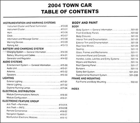 2003 2004 lincoln town car service repair manual oem ebay 2004 lincoln town car repair shop manual original