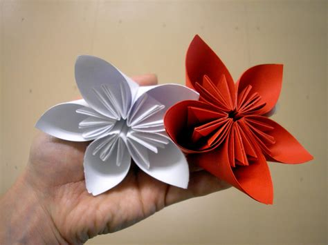 how to make paper origami flowers for welcome home origami flower class