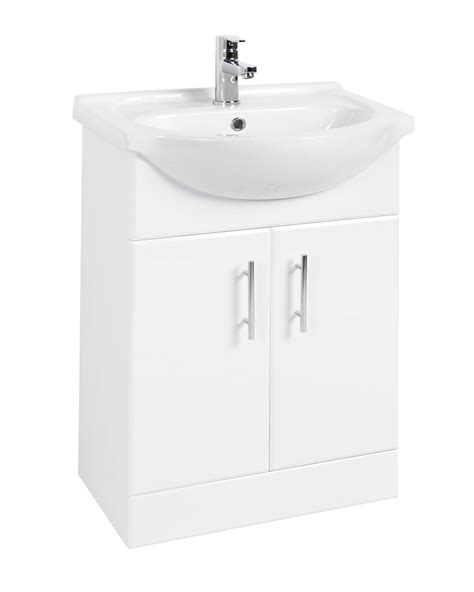 large bathroom vanity units beo 550mm door vanity unit and basin high gloss white
