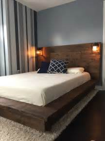 wood bed frames with headboard best 25 wood bed frames ideas on bed frames