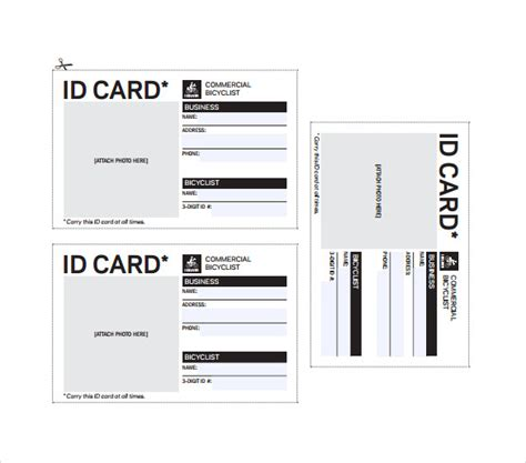 card on microsoft word id card template cyberuse