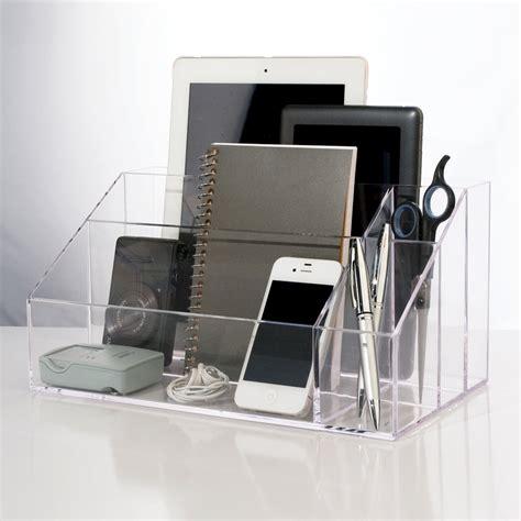 top of desk organizer desktop organizer stori