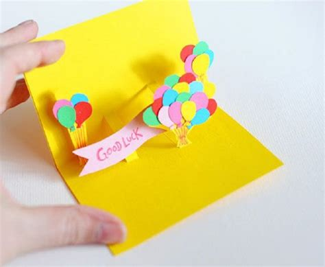 pop up cards for to make 7 diy happy birthday cards