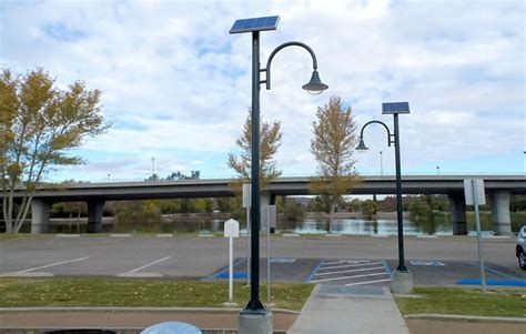 lights parks solar park lighting greenshine new energy