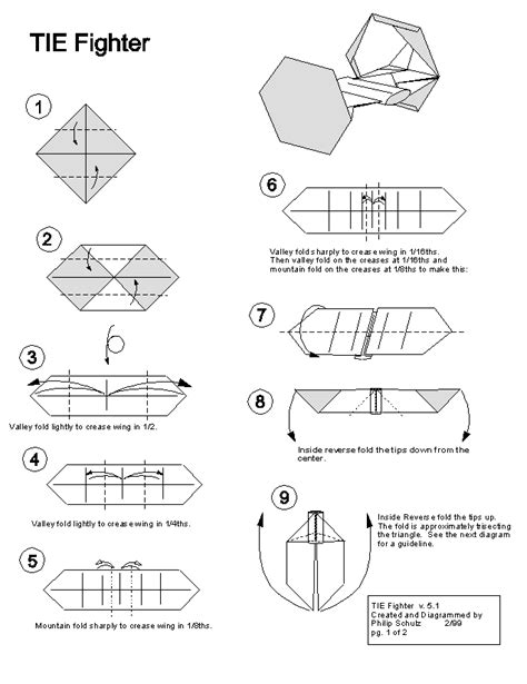 how to make an origami tie wars origami