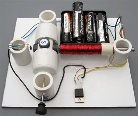 Easy Electric Motor by Motor On A Effect Switch Simple Electric Motors
