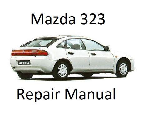 1995 mazda 323 protege repair shop manual original mazda 323 protege bg 6th generation repair manual