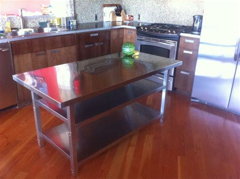 metal kitchen island tables metal kitchen island tables 28 images stainless steel