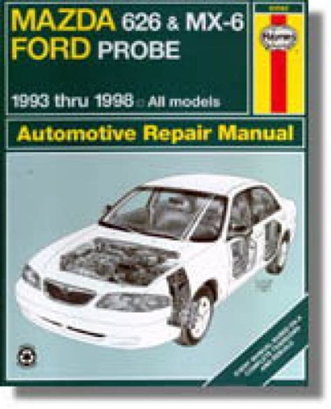 automotive repair manual 1997 ford probe auto manual 1993 2001 mazda 626 mx 6 ford probe haynes repair manual
